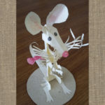 мышь из бумаги