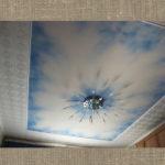 потолок небо облака фреска