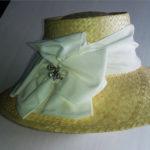 шляпная лента соломка