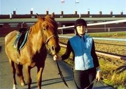 ольга с лошадкой